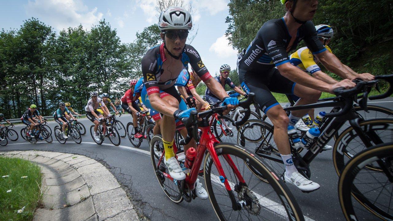 Radrennen mit Team Felbermayer auf Challenge Reifen