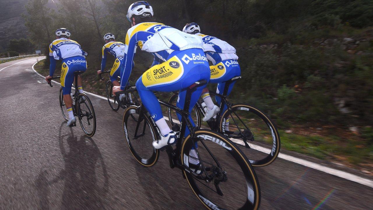 FFWD Laufräder bei Radrennen mit Radteam